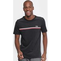 Camiseta Fila Border Ii Masculina - Masculino 1ae5ea59613