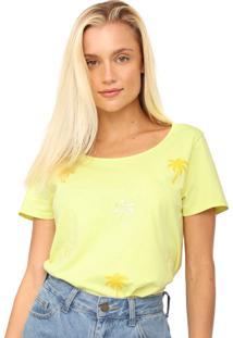 Camiseta Malwee Liberta Coqueiros Verde