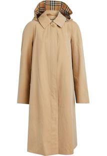 Burberry Trench Coat Midi - Marrom
