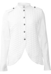 Jaqueta Malwee Textura Branca