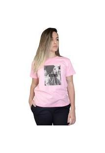 Camiseta Boutique Judith Bitches Rosa