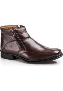 Bota Soft Confort Boots 9907-01-Castanho-37