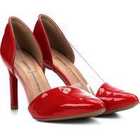 c3d7bf2bf Scarpin Dakota Vermelho feminino | Shoes4you