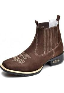 Bota Top Franca Shoes Country - Masculino-Café