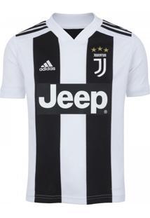 Camisa Infantil Adidas Juventus 1 18/19 Preto/Branco - M