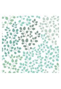 Papel De Parede Stickdecor Adesivo Floral Degradê Verde 100Cm L X 300Cm A