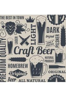 Papel De Parede Adesivo Cerveja Artesanal