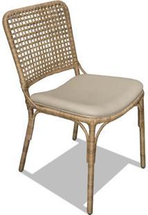 Cadeira Venti Junco Natural Estrutura Alumínio Eco Friendly Design Scaburi