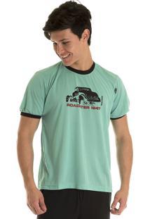 Camisa Konciny Decote Redondo Verde
