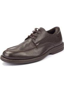 Sapato Social Sidewalk Floater Confort Masculino - Masculino-Café