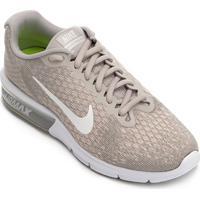 88c1a0e0afb Tênis Nike Air Max Sequent 2 Feminino - Feminino-Cinza