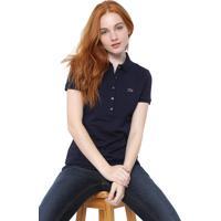 Camisa Polo Lacoste Logo Azul-Marinho 80a4fcdc49753