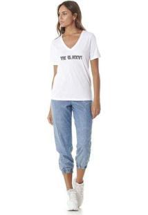 Camiseta Serinah Bordado Lolizado Tk U Nxt Feminina - Feminino