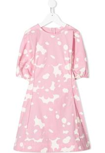 Marni Kids Vestido Com Estampa Floral - Rosa