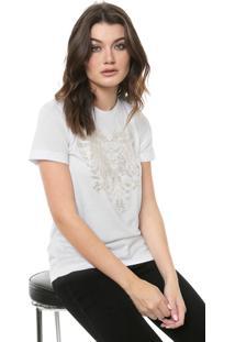 Camiseta Cavalera Águia Rastros Branca