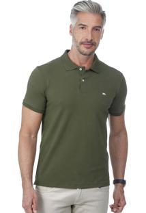 Camisa Polo Javali Militar Cotton Basic e501d1b023101