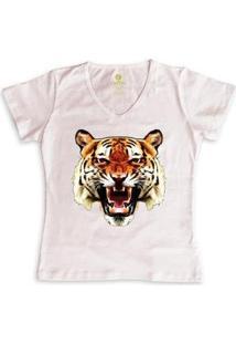 Camiseta Cool Tees Tigre China Town Feminina - Feminino