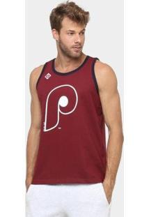Camiseta Regata New Era Mlb Double Stripe 3 Philadelphia Philies - Masculino