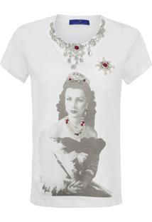 Camiseta Feminina Fawzia - Branco