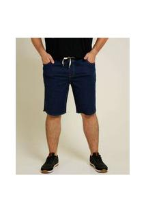 Bermuda Masculina Jeans Bolsos Plus Size Razon