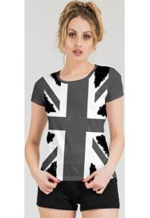 Camiseta Stompy Feminina Estampada 16 - Feminino-Cinza