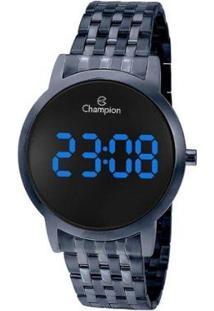 Relógio Champion Digital Ch40099A Feminino - Feminino-Azul