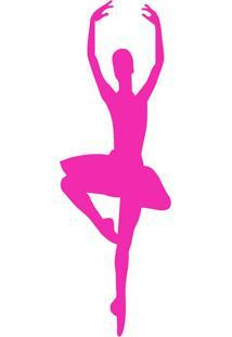 Escultura De Parede 12510 Pink 20X45 Art Shop