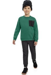 Casaco Quimby Infantil Verde
