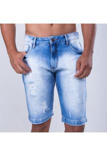 Bermuda Mormaii Jeans Malibu Nights Masculino - Masculino-Azul