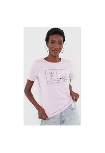 Camiseta Cantão Slim Insônia Lilás