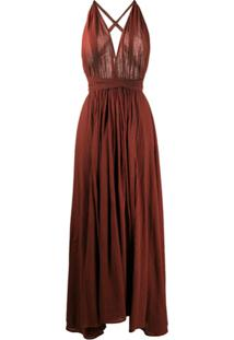 Caravana Vestido Longo Hera - Vermelho