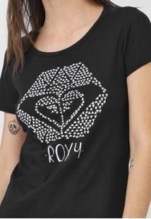Camiseta Roxy You Rock Preta