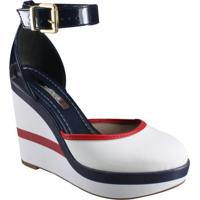 dbeb6562b8 Katy. Sapato Feminino Moleca Anabela