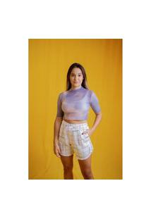 Camiseta Approve Cropped Gola Alta Appro