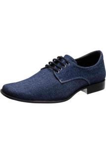 Sapato Stefanello 103-32 - Masculino-Jeans