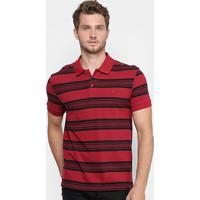 Camisa Polo Lacoste Piquet Regular Fit Listras Masculina - Masculino 05a41b321001b