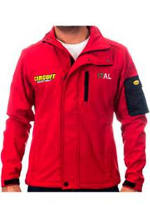 Jaqueta Softshell Circuit Italia - Masculino-Vermelho