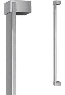 Puxador Para Porta Em Alumínio Concept Pca04 80Cm Escovado