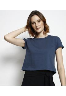 Camiseta Lisa- Azul Marinho- Tritontriton