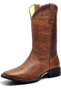 Bota Country Texana Top Franca Shoes Pit Stop Mostarda