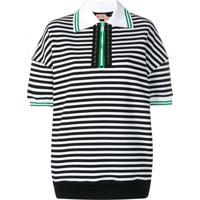 504c10633a Farfetch. Nº21 Camisa Polo Listrada - Preto