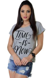 Camiseta Wevans Time Is Now Mescla