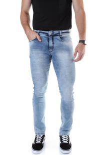 Calça 2255 Jeans Slim Traymon Azul Claro