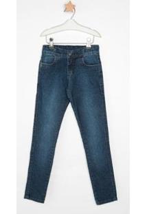 Calça Jeans Infantil Express Toninho Masculina - Masculino-Azul