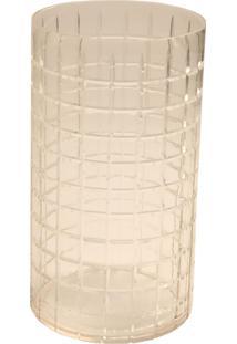 Porta-Velas De Vidro Decorativo Brine