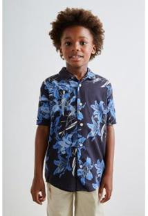 Camisa Pf Mini Mc Delirios Reserva Mini Masculina - Masculino-Preto