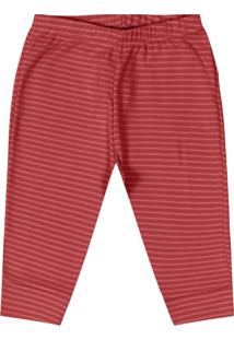Calça Infantil Unissex Vermelho
