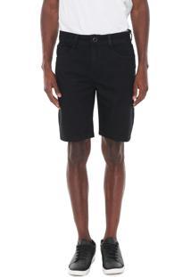 Bermuda Jeans Hang Loose Reta Climb Preta