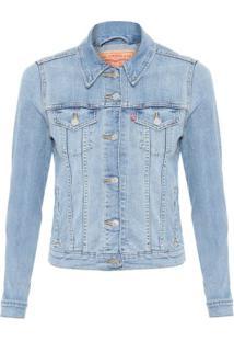 Jaqueta Jeans Trucker Levi'S Women'S - Azul