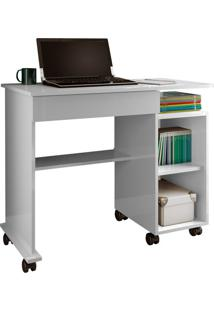 Mesa Para Computador C214 Branco Brilho